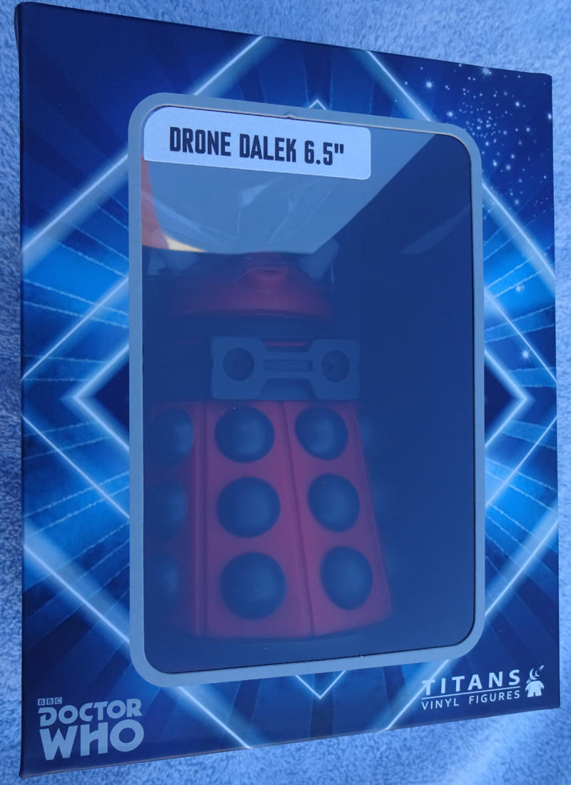 DOCTOR WHO - RED DRONE DALEK, Vinyl figure, 6.5