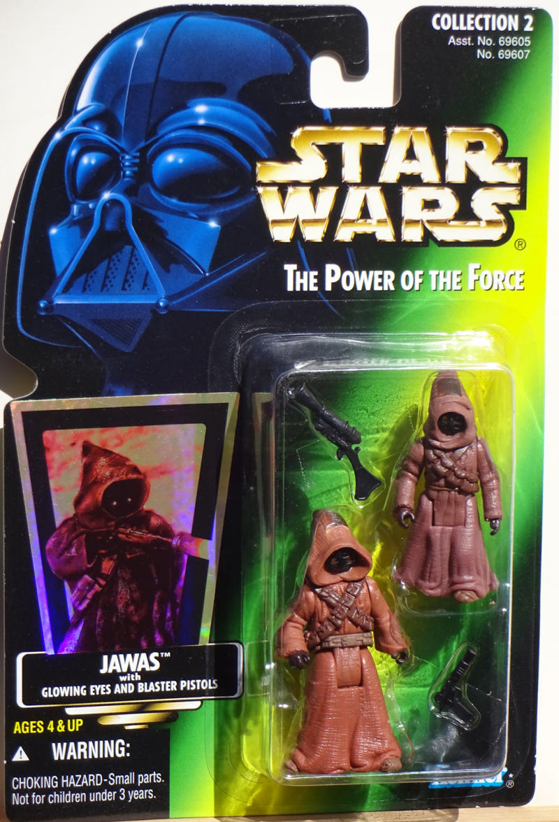 STAR WARS Power of the Force Action Figure, JAWAS, w/ Blaster Pistols, 1996
