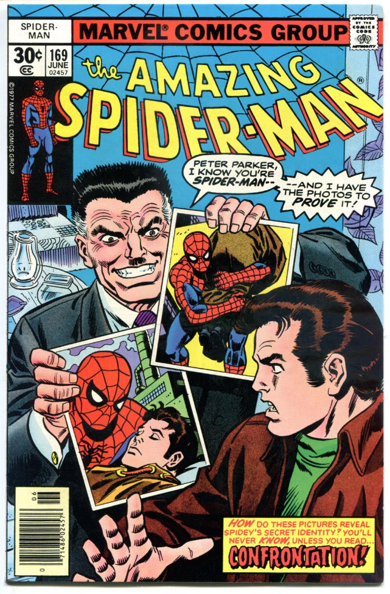 SPIDER-MAN #169, VF/NM, Ross Andru, Clone, Amazing, Confrontation,1963, Len Wein