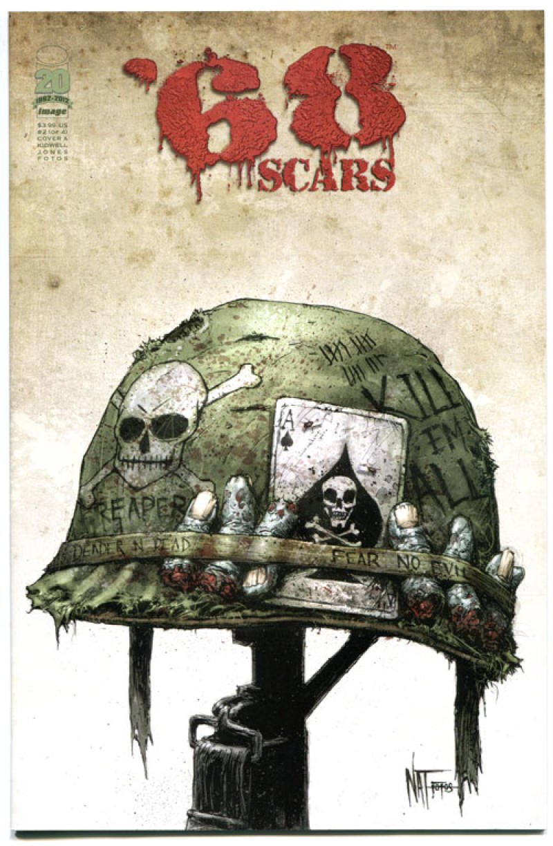 '68 Scars #2, 1st Print, NM, Zombie, unDead, Vietnam War, 2012, more in store