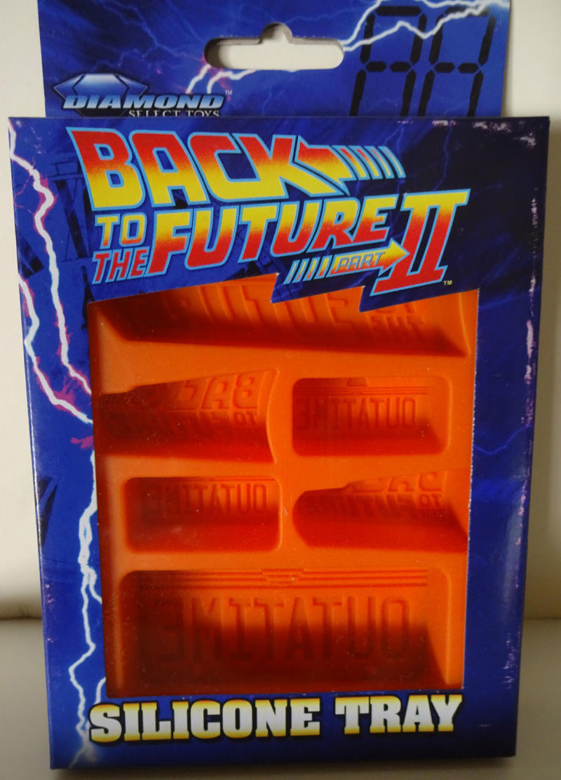 BACK to the FUTURE Silicone Ice Tray, MIB, New in packaging, 2012