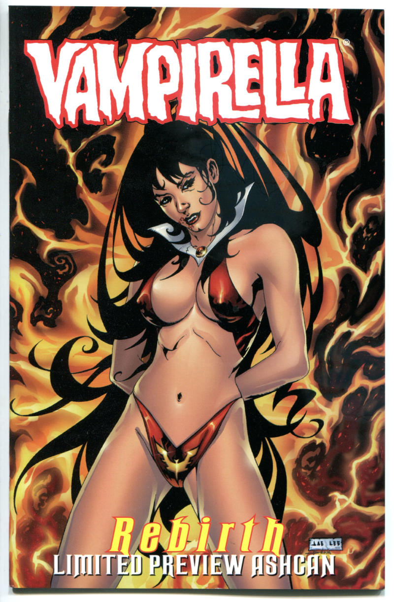 VAMPIRELLA #18 Ashcan, VF/NM, Vampire, Rebirth, Ltd, 1998, more Promos in store