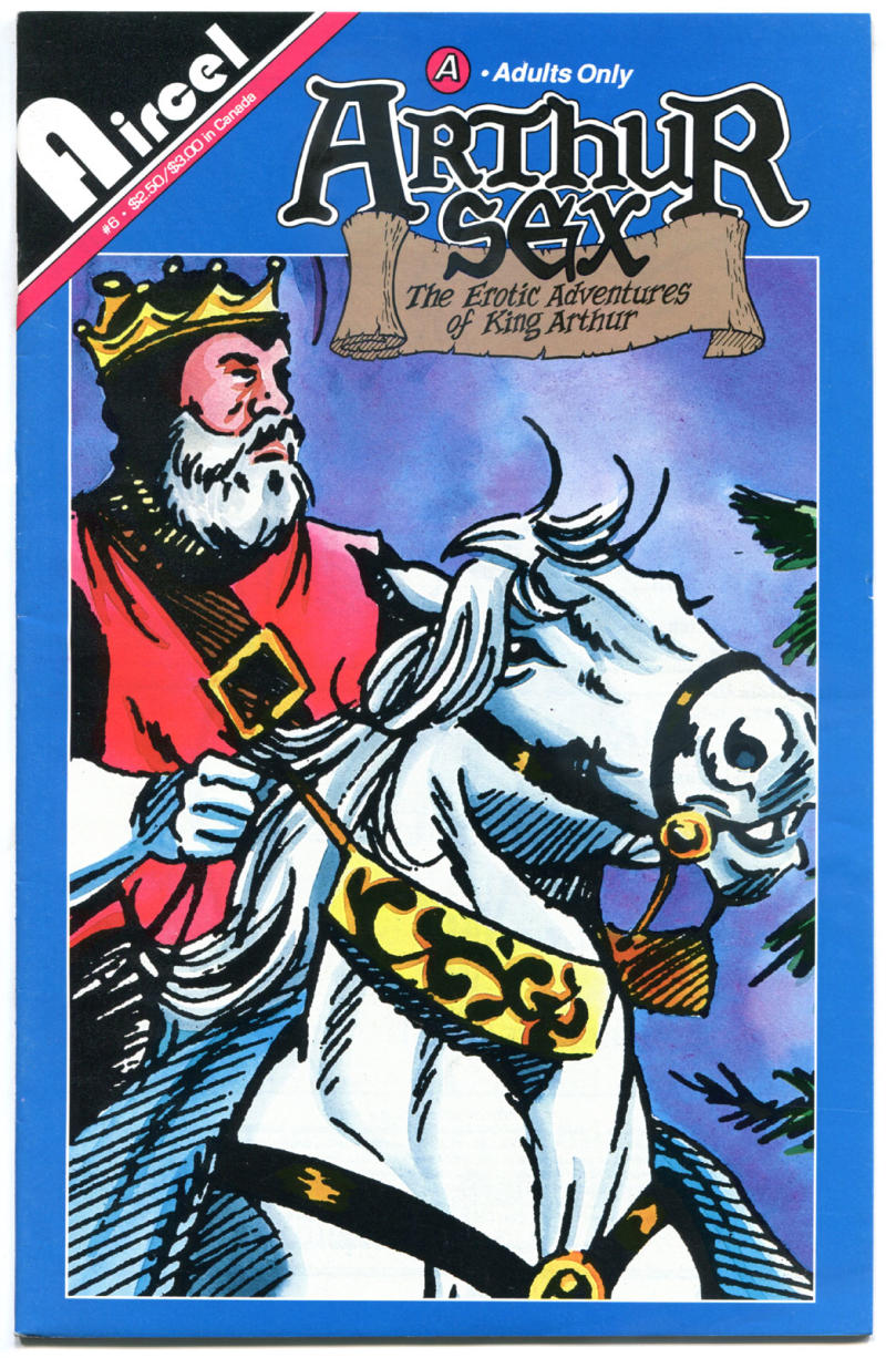 ARTHUR SEX #6, VF/NM, King Arthur Erotic Adventures, Adult, 1991, more in store