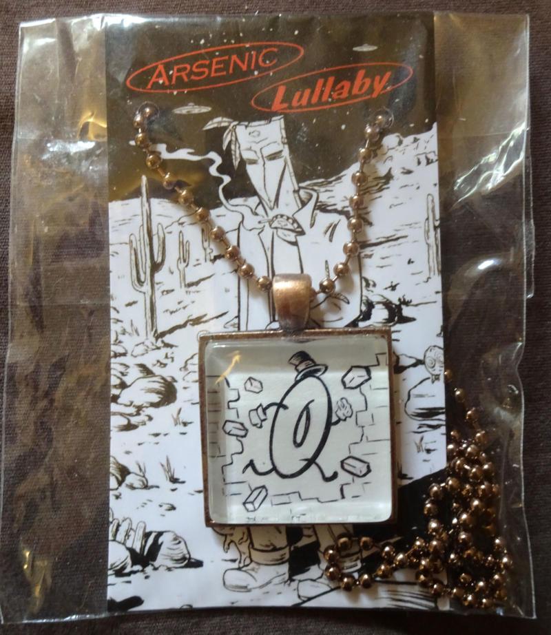 ARSENIC LULLABY NECKLACE by Douglas Paszkiewicz, MIP, Voodoo Joe,Baron von Donut