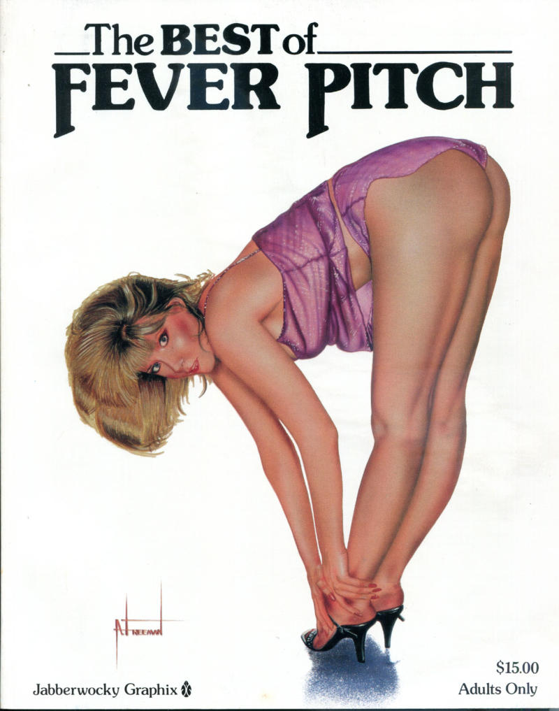 BEST of FEVER PITCH, Graphic Novel, NM, TPB, Jabberwocky, 1st, 1990, Adult