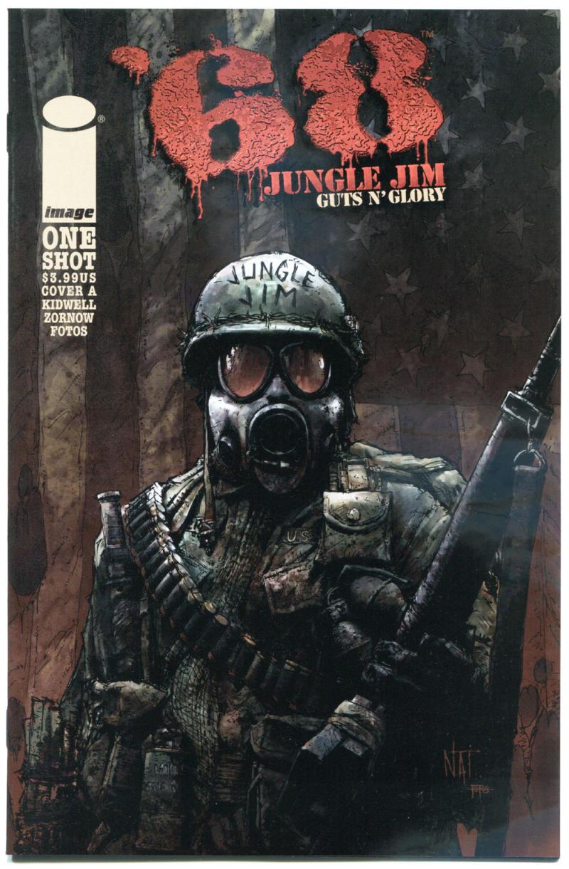 '68 JUNGLE JIM Guts n Glory #1 A, NM, Zombie, Walking Dead, Vietnam War, 2015
