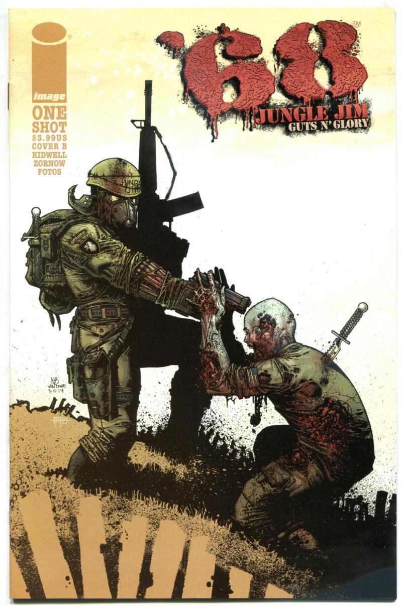 '68 JUNGLE JIM Guts n Glory #1 B, NM, Zombie, Walking Dead, Vietnam War, 2015