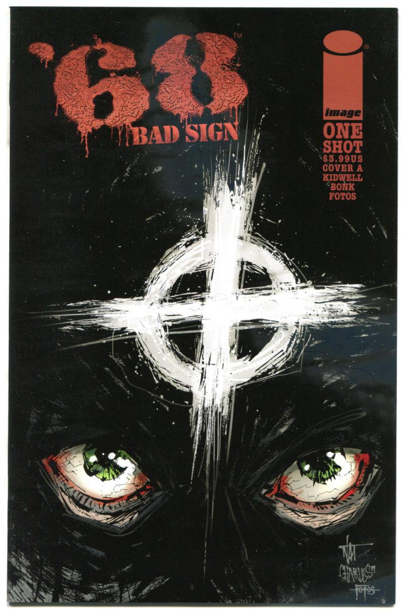 '68 BAD SIGN #1 A, NM, Zombie, Walking Dead, Vietnam War, 2015, Horror