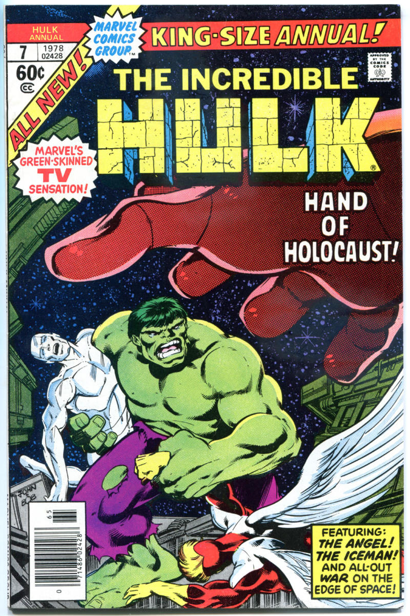 HULK Annual #7, VF, Incredible, Silver Surfer, Holocaust, 1968, more in store