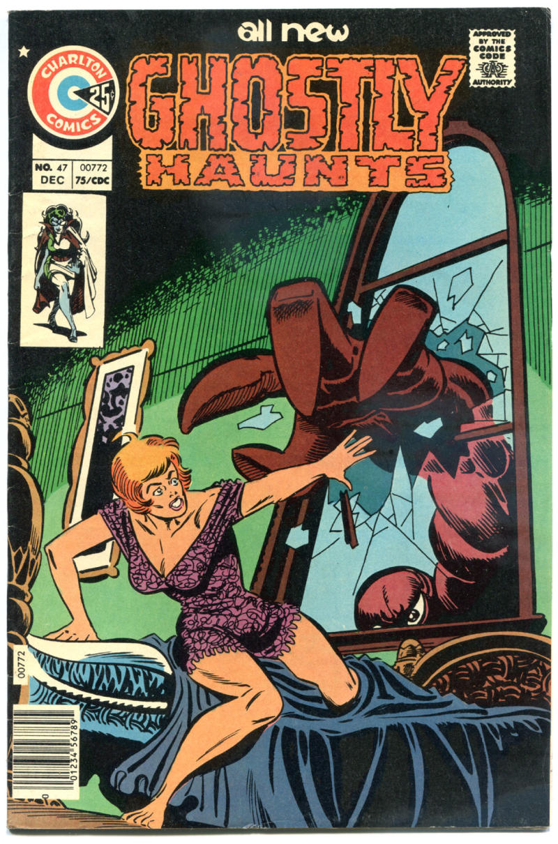 GHOSTLY HAUNTS #47, FN/VF, Steve Ditko, 1971 1975, more Charlton in store