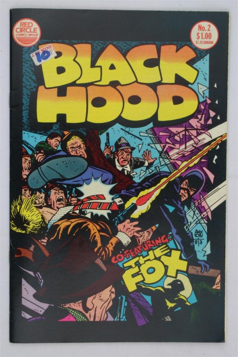 BLACK HOOD #2, NM, Alex Toth, The Fox,  Red Circle, 1983, more in store