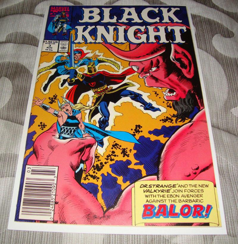 BLACK KNIGHT #3, NM, Dr Strange, Valkyrie, Marvel, 1990, more in store