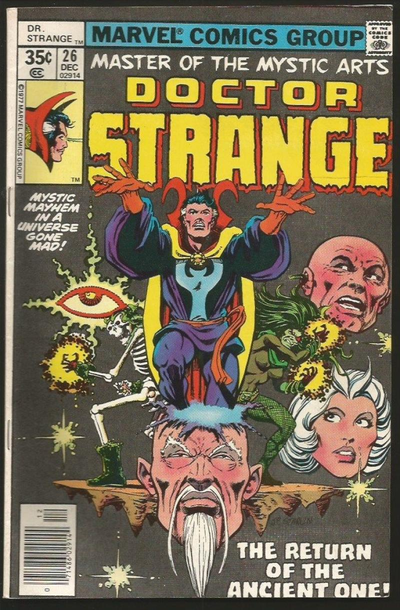 DR STRANGE #26, VF+, Jim Starlin, Rudy Nebres, 1974 1977, Doctor,more in store