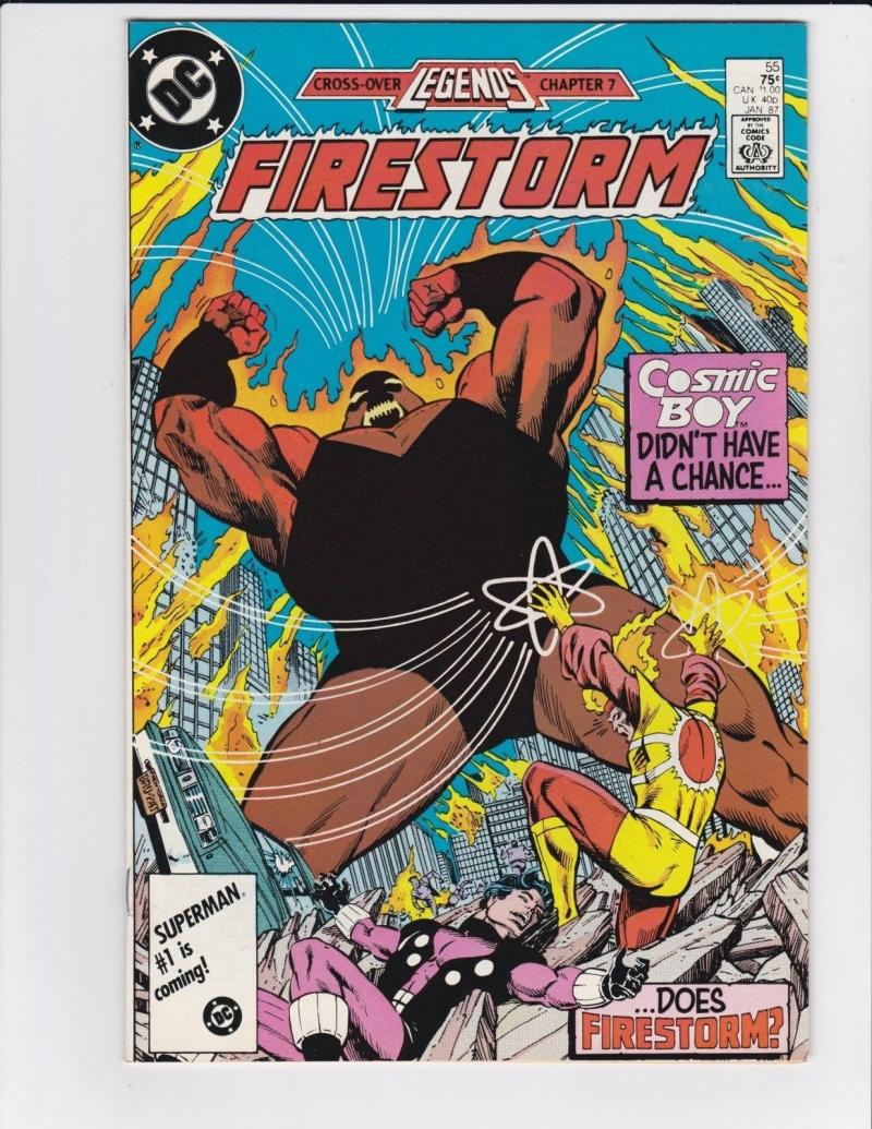 FIRESTORM THE NUCLEAR MAN #55, VF/NM, DC, 1982 1987, more DC in store