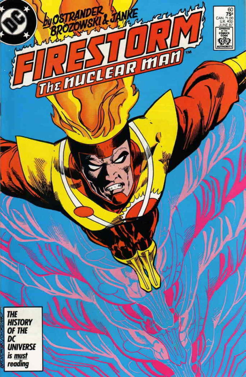 FIRESTORM THE NUCLEAR MAN #60, VF/NM, DC, 1982 1987, more DC in store