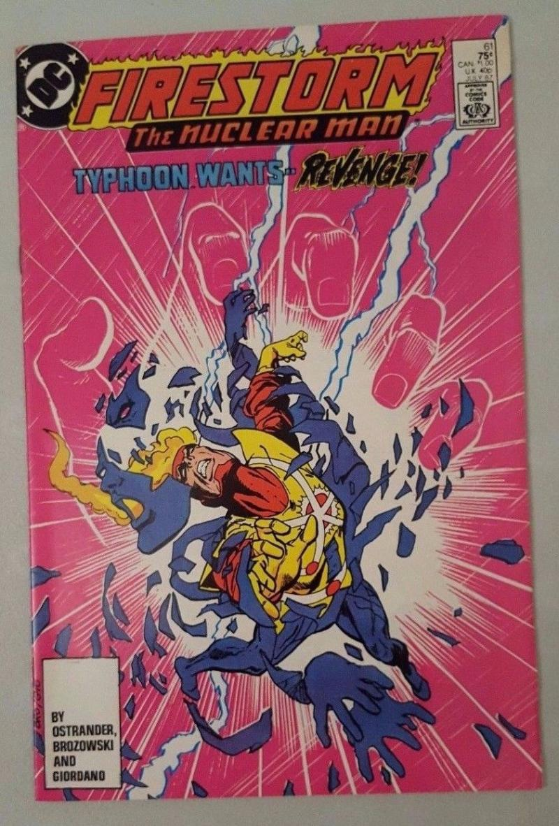 FIRESTORM THE NUCLEAR MAN #61, VF/NM, DC, 1982 1987, more DC in store