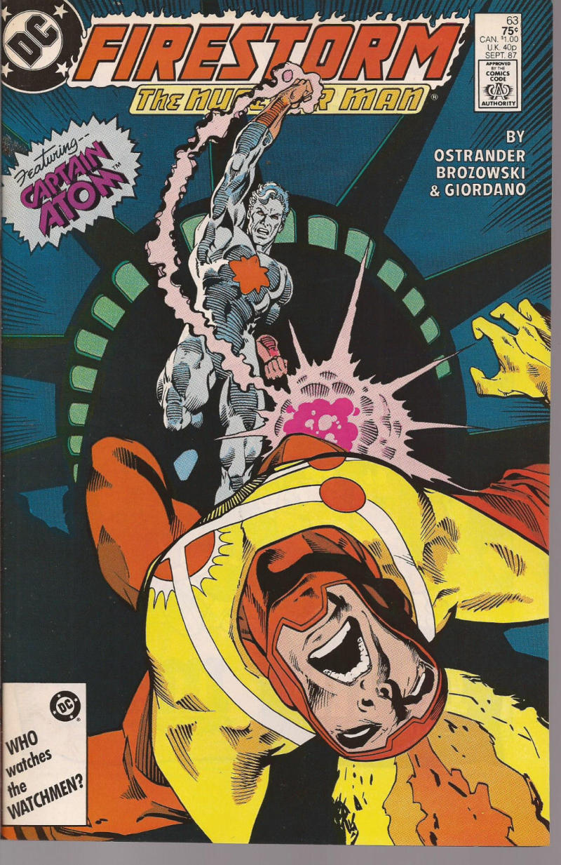 FIRESTORM THE NUCLEAR MAN #63, VF/NM, DC, 1982 1987, more DC in store