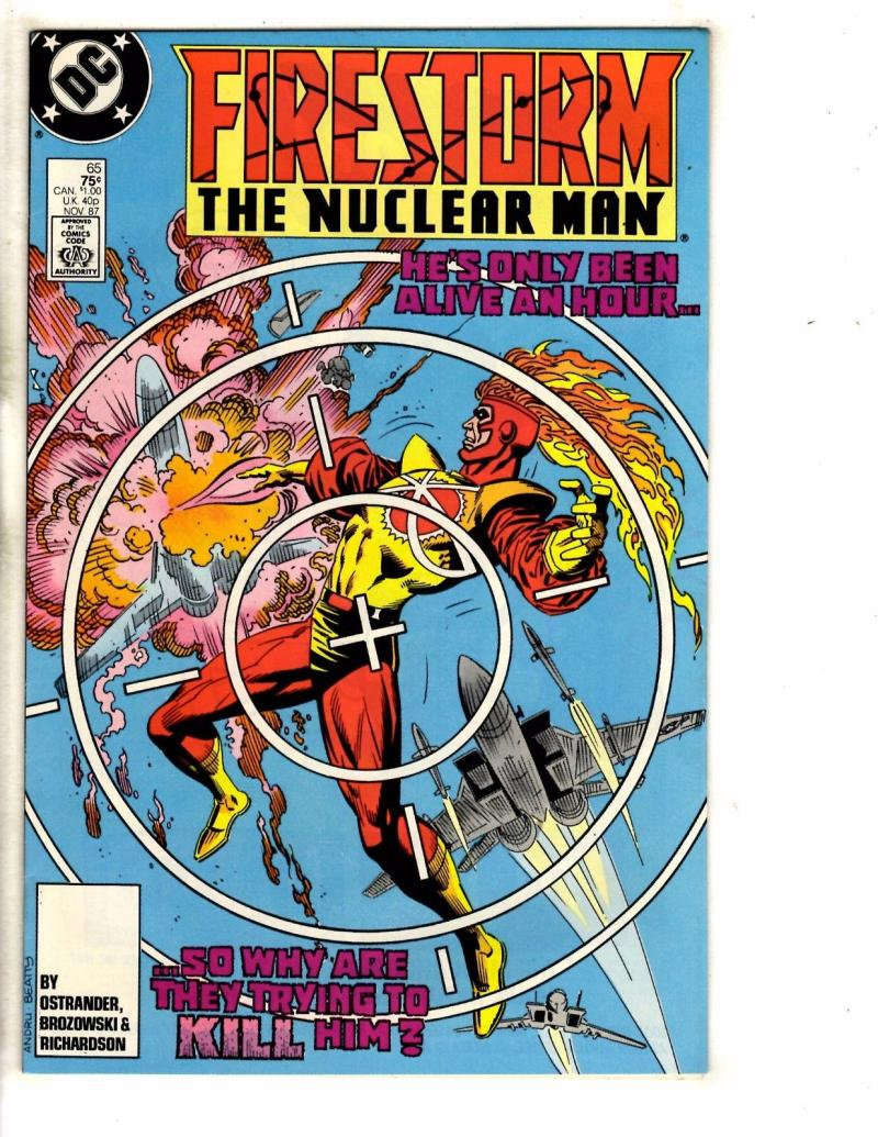 FIRESTORM THE NUCLEAR MAN #65, VF/NM, DC, 1982 1987, more DC in store