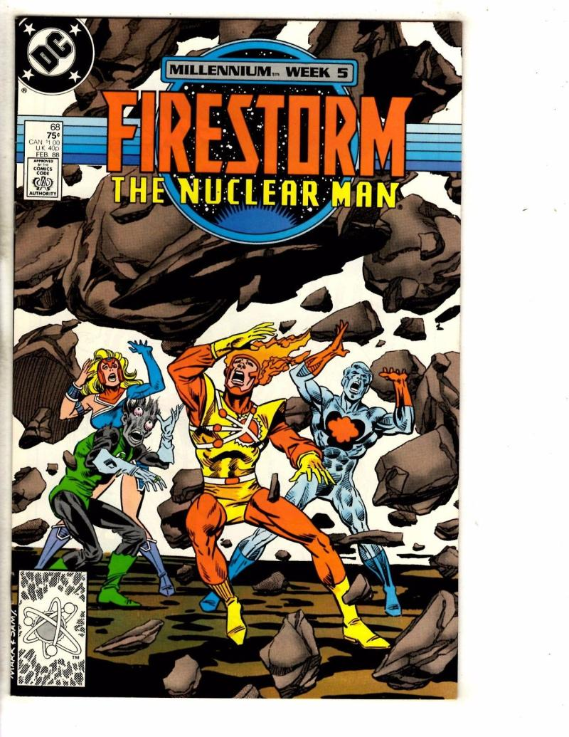 FIRESTORM THE NUCLEAR MAN #68, VF/NM, DC, 1982 1988, more DC in store