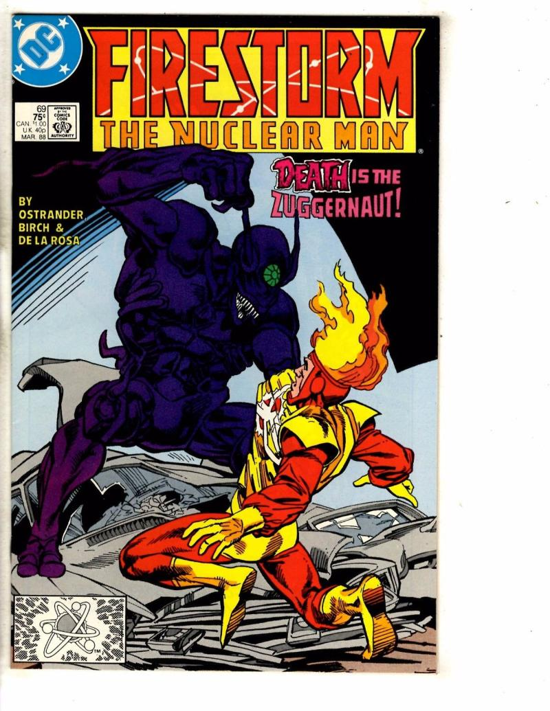 FIRESTORM THE NUCLEAR MAN #69, VF/NM, DC, 1982 1988, more DC in store