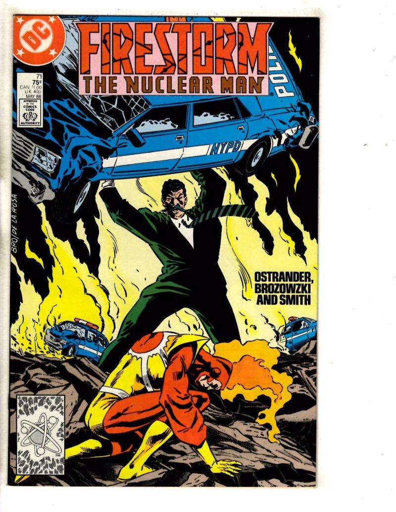 FIRESTORM THE NUCLEAR MAN #71, NM, DC, 1982 1988, more DC in store