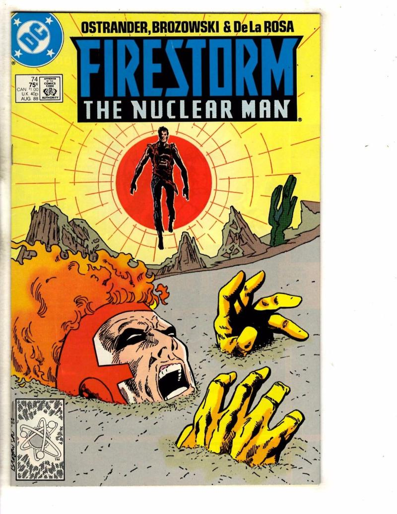 FIRESTORM THE NUCLEAR MAN #74, VF/NM, DC, 1982 1988, more DC in store