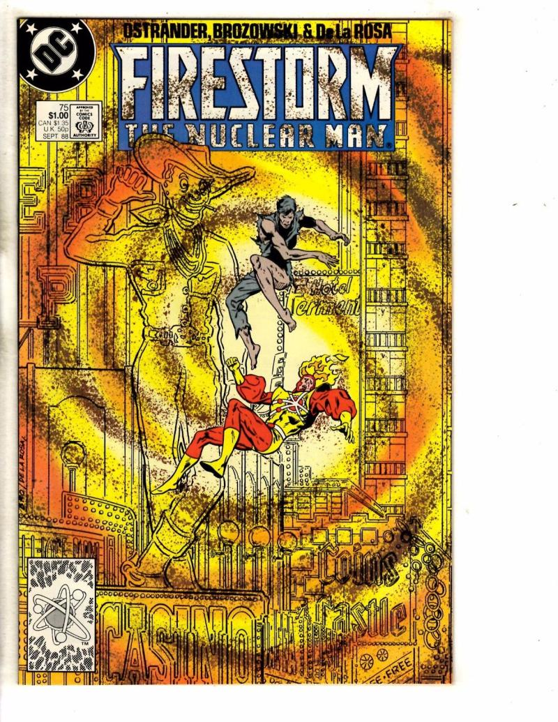 FIRESTORM THE NUCLEAR MAN #75, VF/NM, DC, 1982 1988, more DC in store