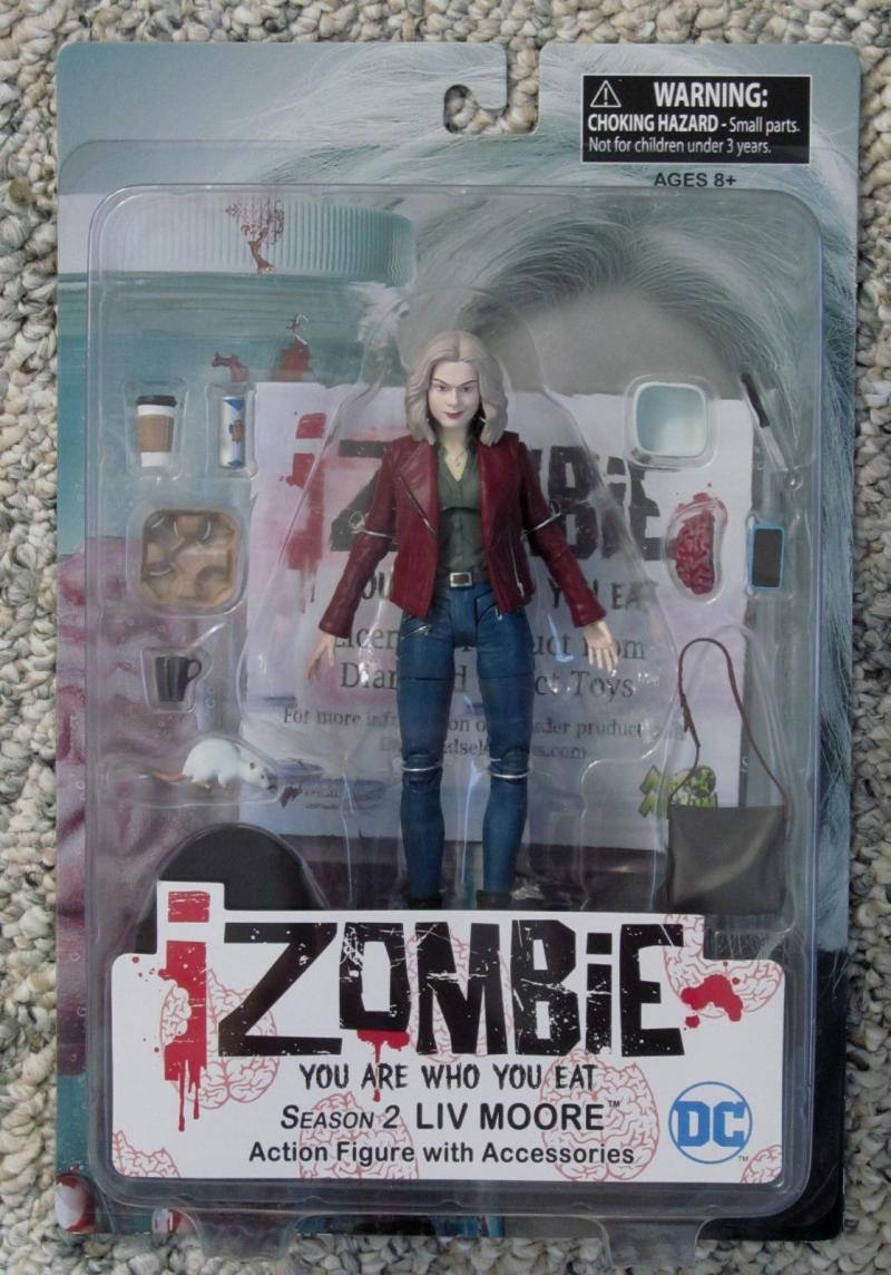 iZOMBIE Action Figure, NM, MIP, I Zombie, Vertigo, w accessories, Liv Moore, S2