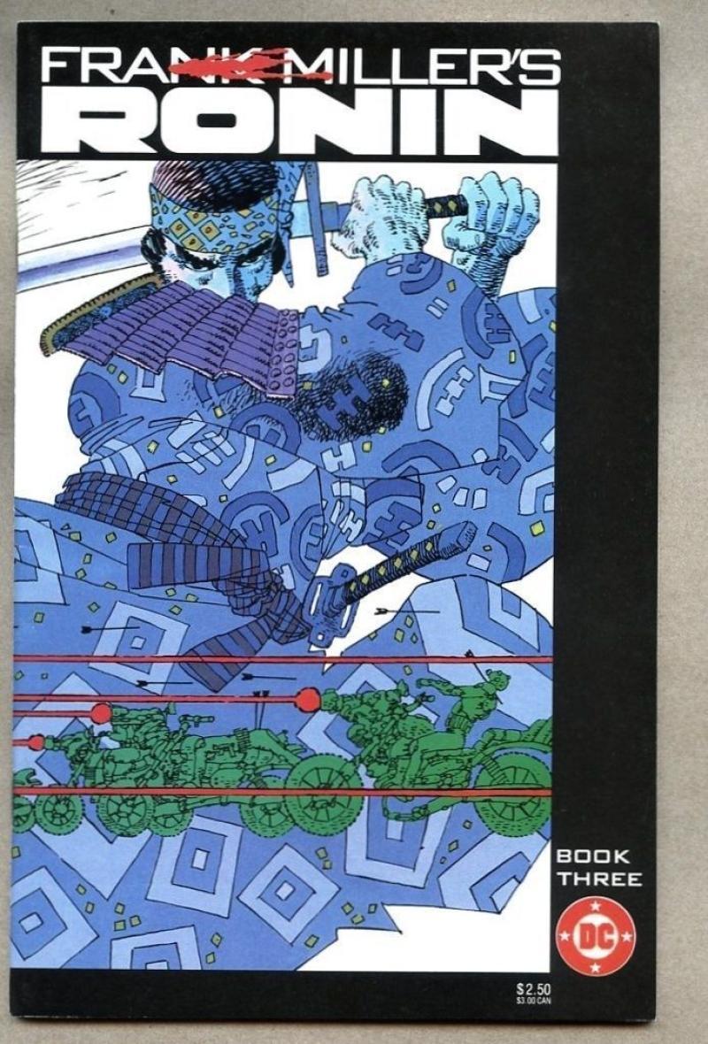RONIN #3, VF/NM, Frank Miller, Samurai, DC, 1983, more FM in store