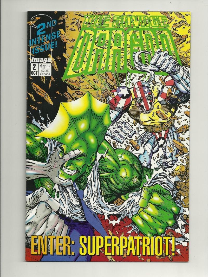 SAVAGE DRAGON #2, NM-, Erik Larsen, Image Comics, 1992, more Indies in store