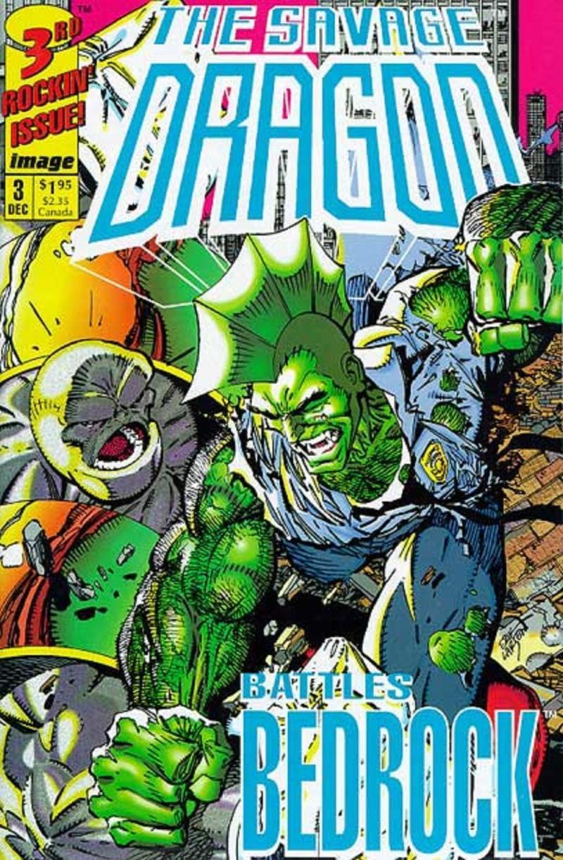 SAVAGE DRAGON #3, NM-, Erik Larsen, Image Comics, 1992, more Indies in store