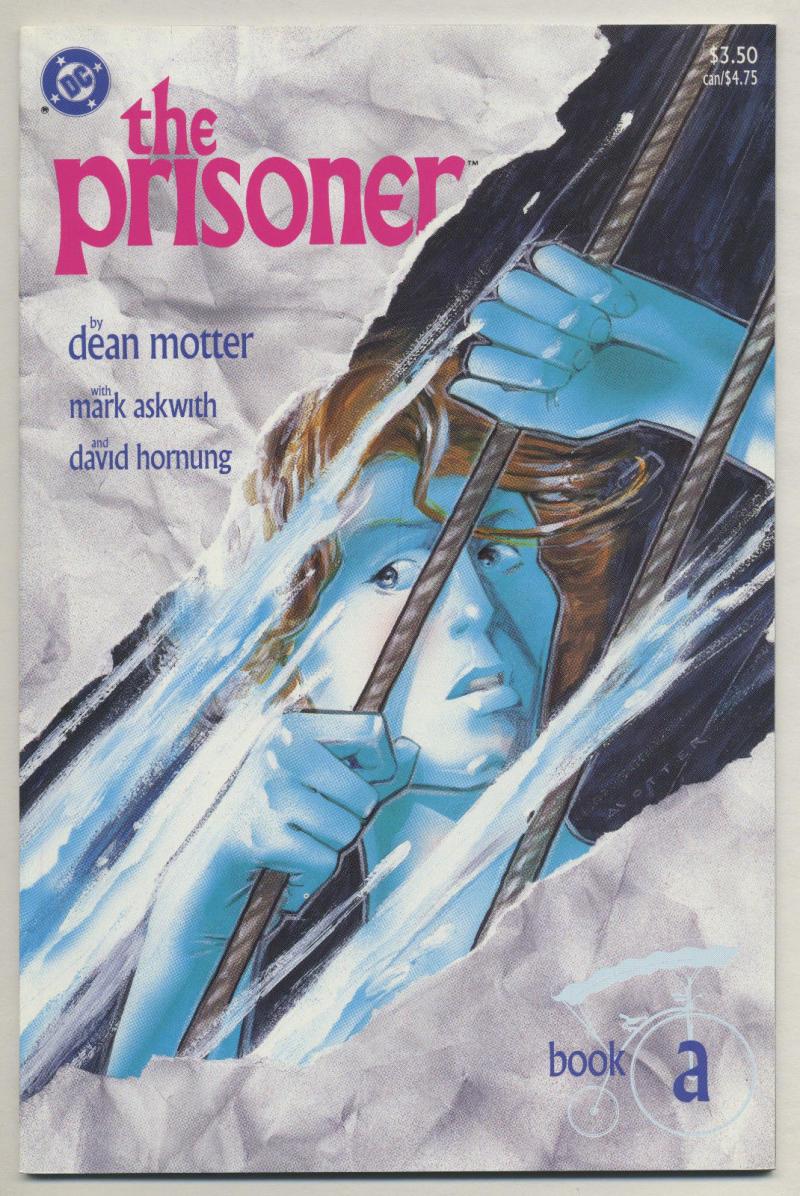 PRISONER #1, NM, Dean Motter, 1988, DC, Retired Spy, A, I am not a Number