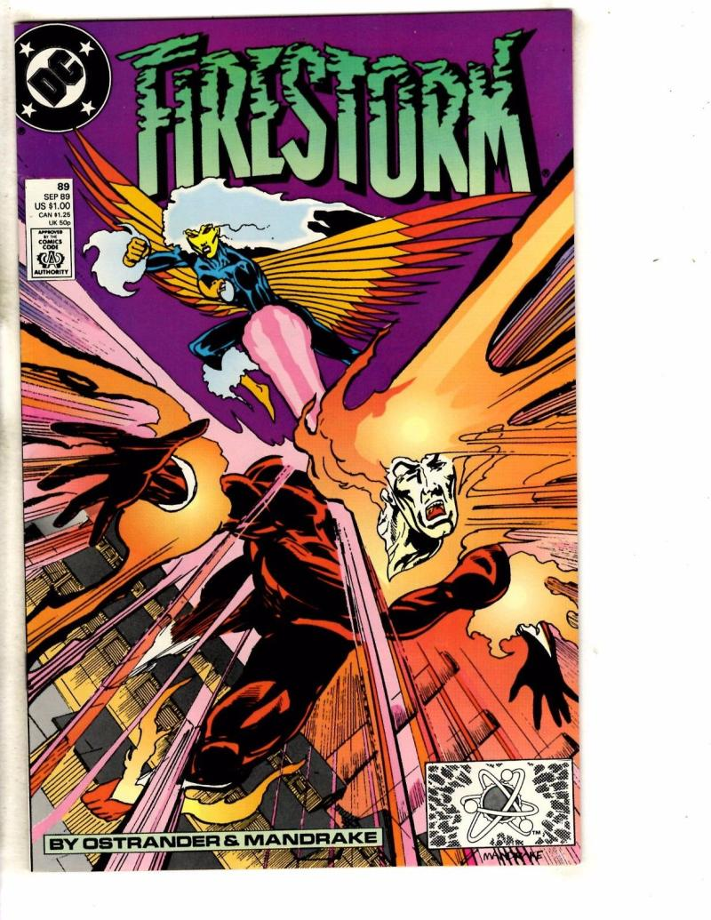 FIRESTORM THE NUCLEAR MAN #89, VF/NM, DC, 1982 1989, more DC in store