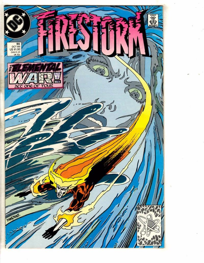 FIRESTORM THE NUCLEAR MAN #90, VF/NM, DC, 1982 1989, more DC in store