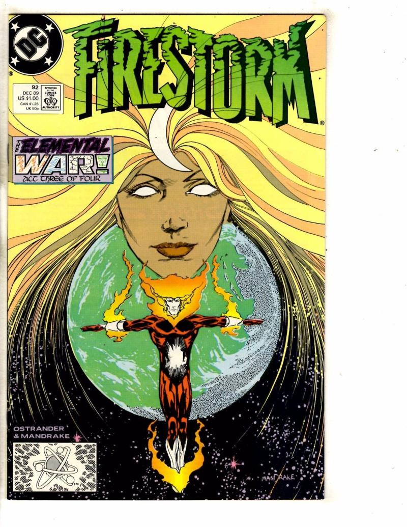 FIRESTORM THE NUCLEAR MAN #92, VF/NM, DC, 1982 1989, more DC in store