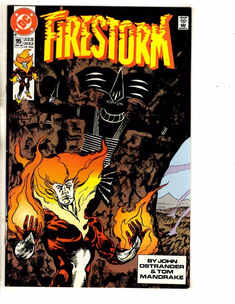 FIRESTORM THE NUCLEAR MAN #95, VF/NM, DC, 1982 1990, more DC in store