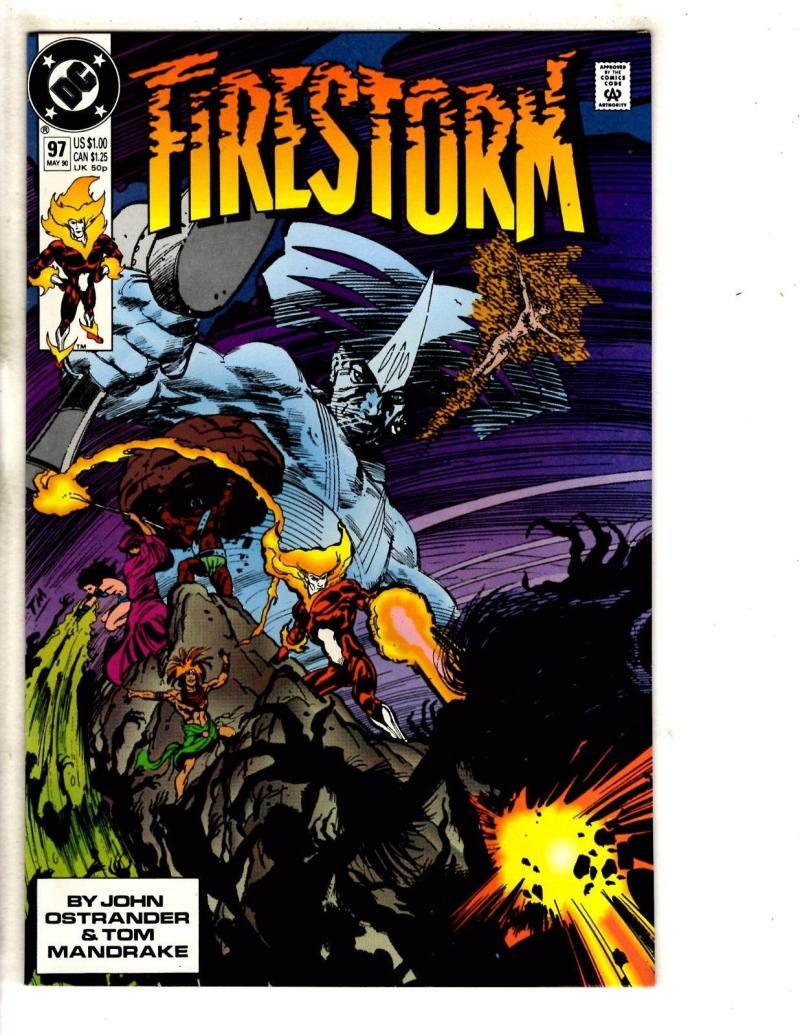 FIRESTORM THE NUCLEAR MAN #97, VF/NM, DC, 1982 1990, more DC in store
