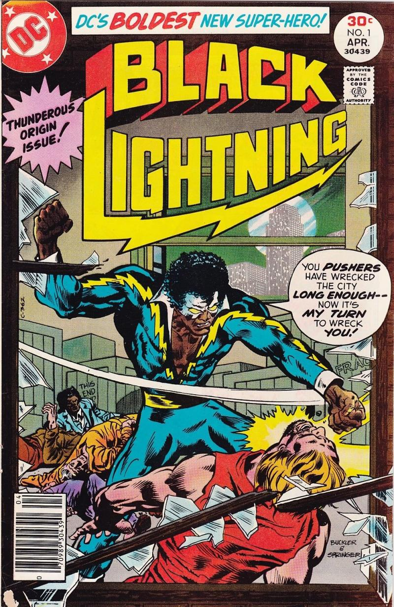 BLACK LIGHTNING #1, VF, Origin, Bronze age, 1977, more DC in store