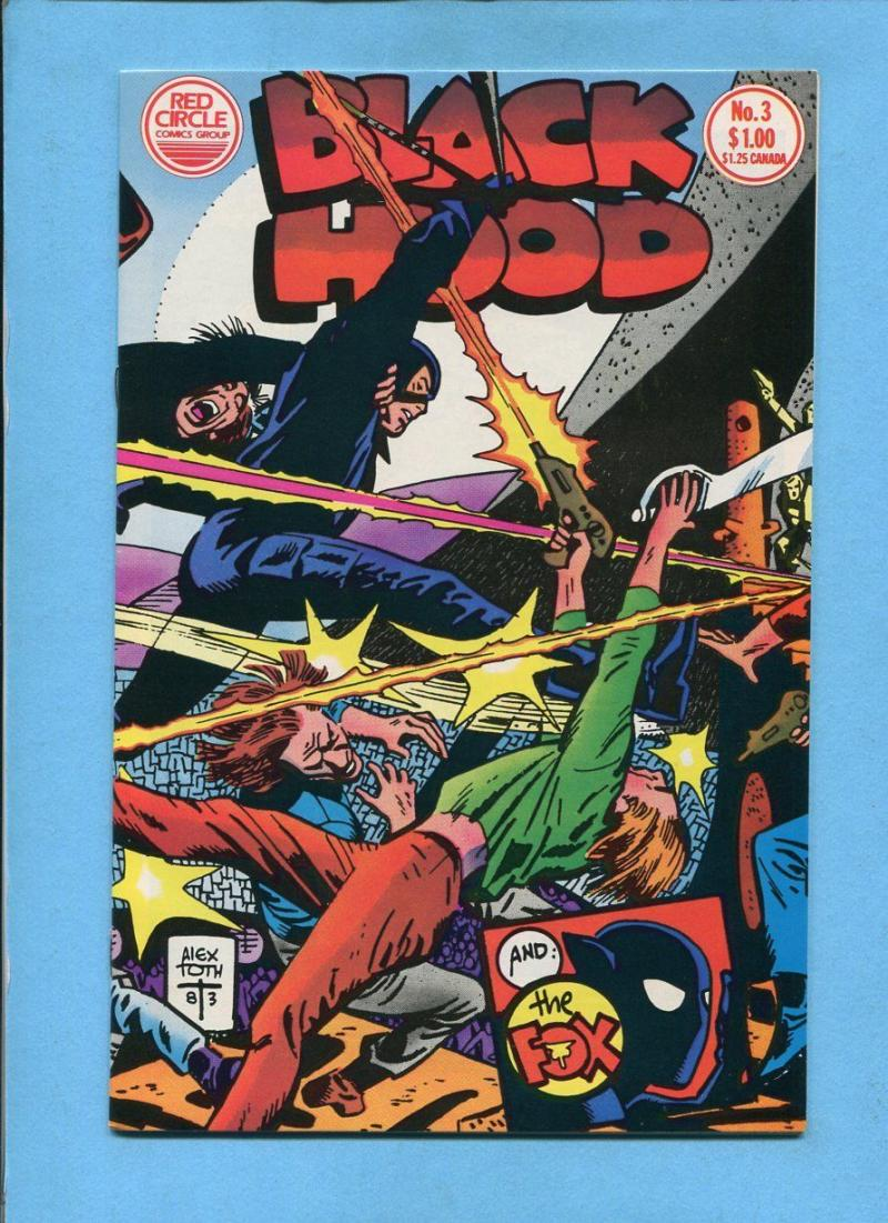 BLACK HOOD #3, VF/NM, Alex Toth, The Fox,  Red Circle, 1983, more in store