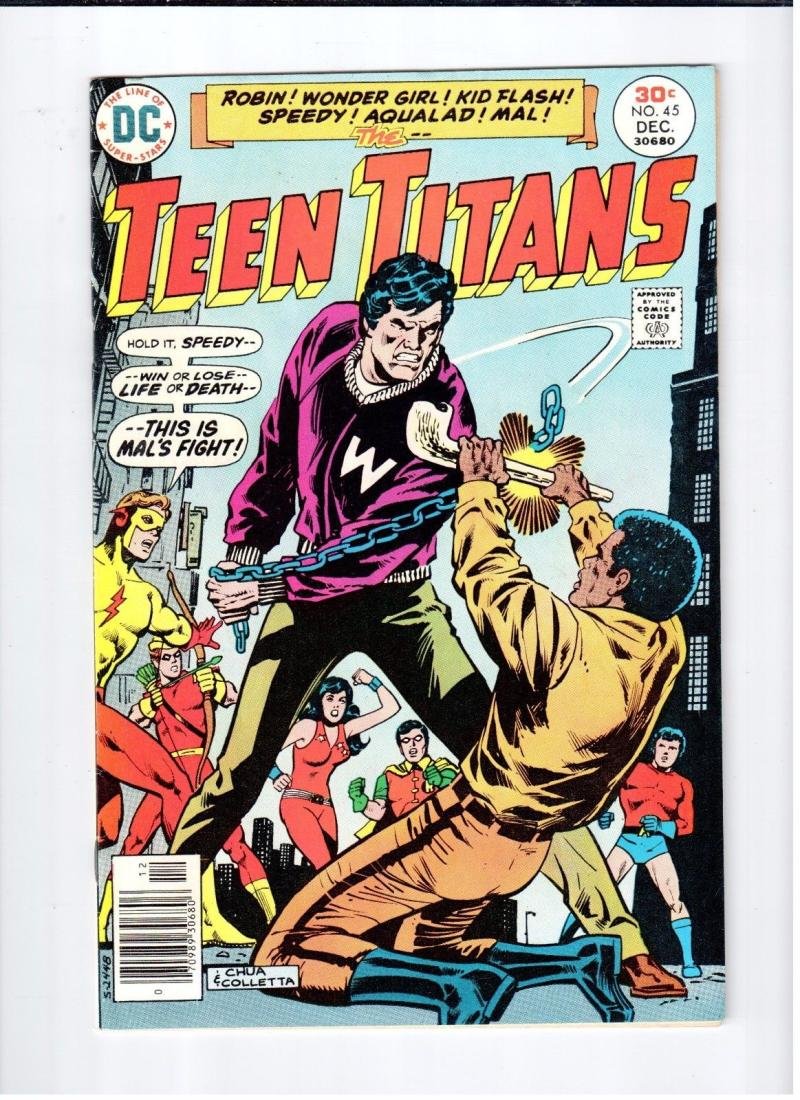TEEN TITANS #45, VF, Wonder Girl, Ernie Chan, Robin, 1976, more TT in store