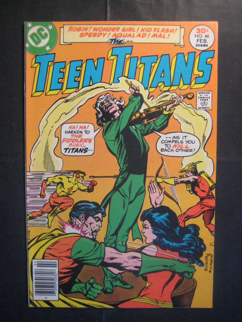 TEEN TITANS #46, FN, Wonder Girl, Joker's Daughter, Robin, 1977, more TT in store