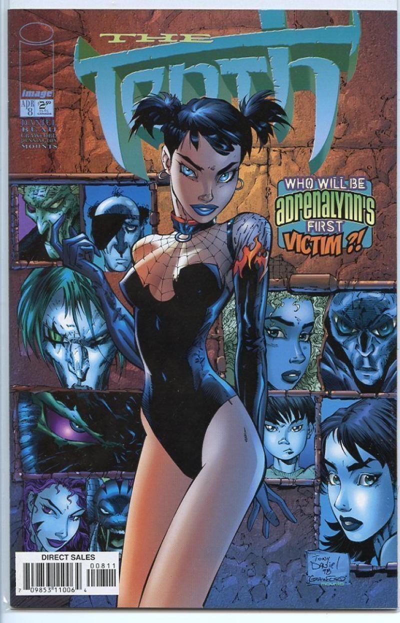 TENTH #8, NM, Tony Daniel, Image Comics, 1997 1998, Monster, more in store