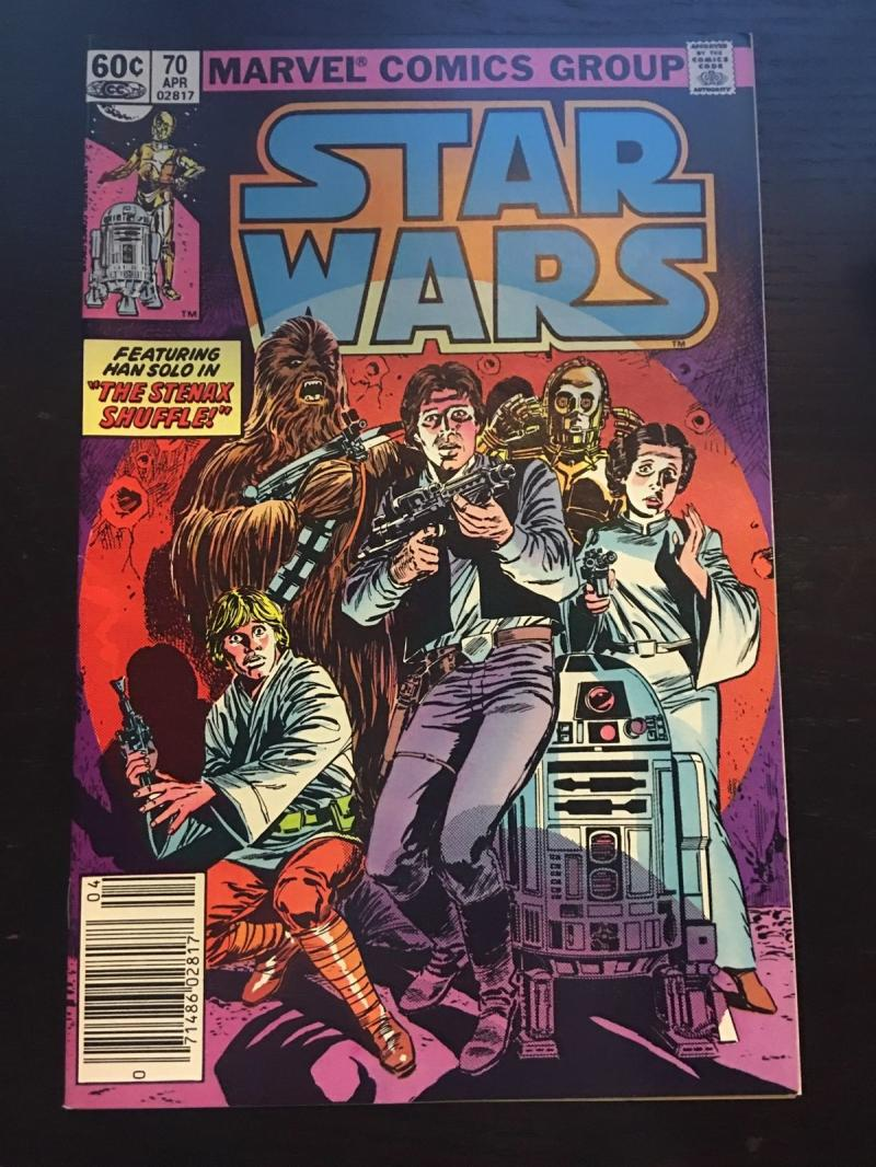 STAR WARS #70, FN+, Luke Skywalker, Darth Vader, 1977, more SW in store