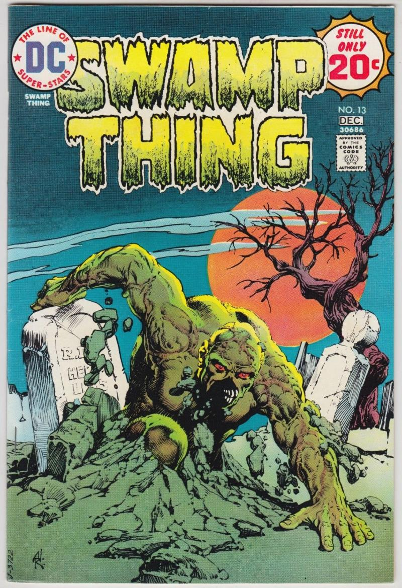 SWAMP THING #13, VF+, Horror, 1972 1974, Len Wein, Redondo, more in store