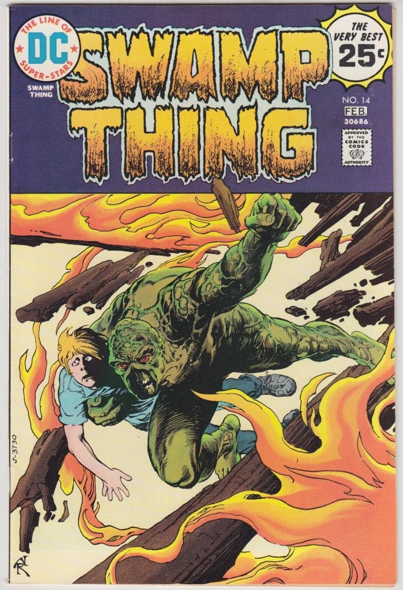 SWAMP THING #14, VF+, Horror, 1972 1975, Tomorrow Children, Redondo, more in store