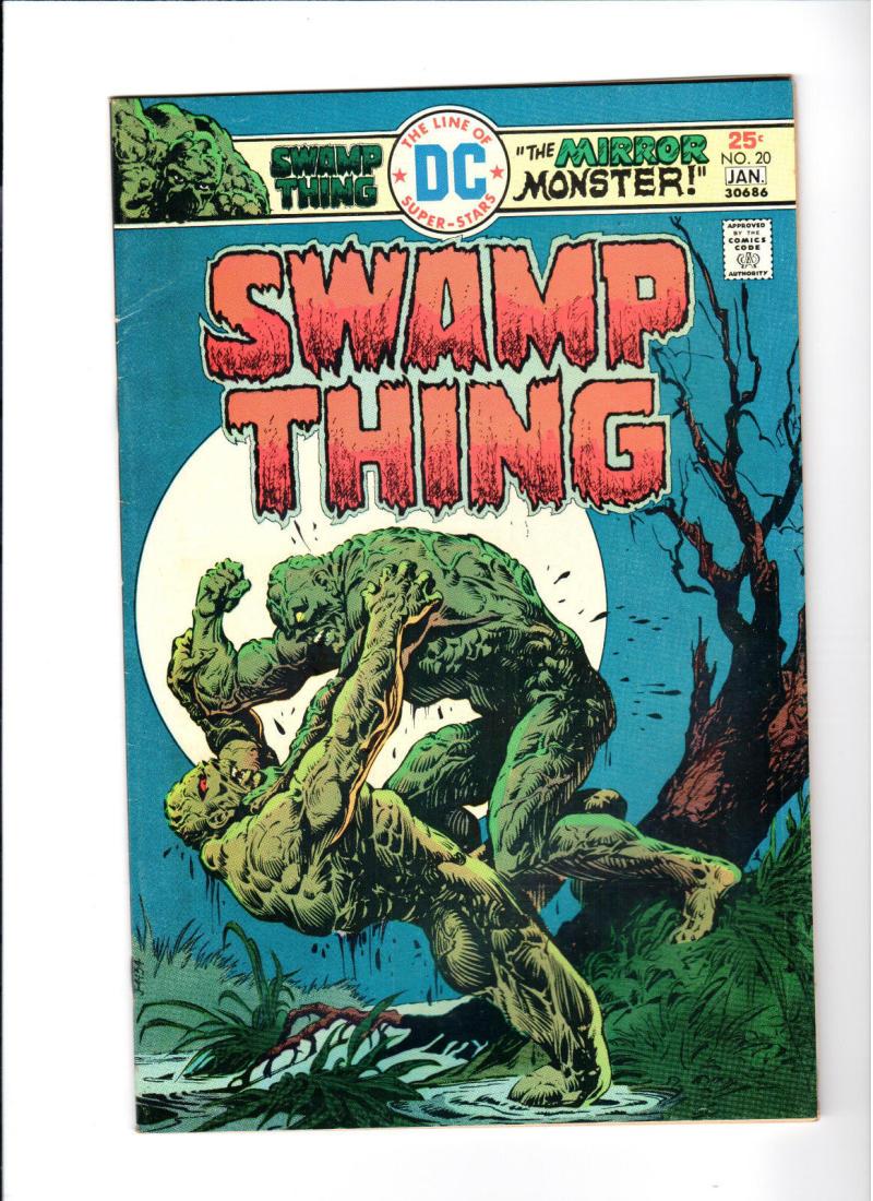 SWAMP THING #20, FN/VF, Horror, 1972 1976, Monster, Redondo, more in store