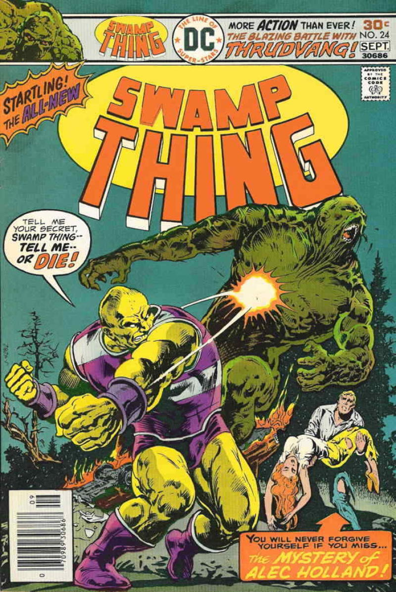 SWAMP THING #24, FN/VF, Horror, 1972 1976, Thrudvang, Ernie Chan, more in store