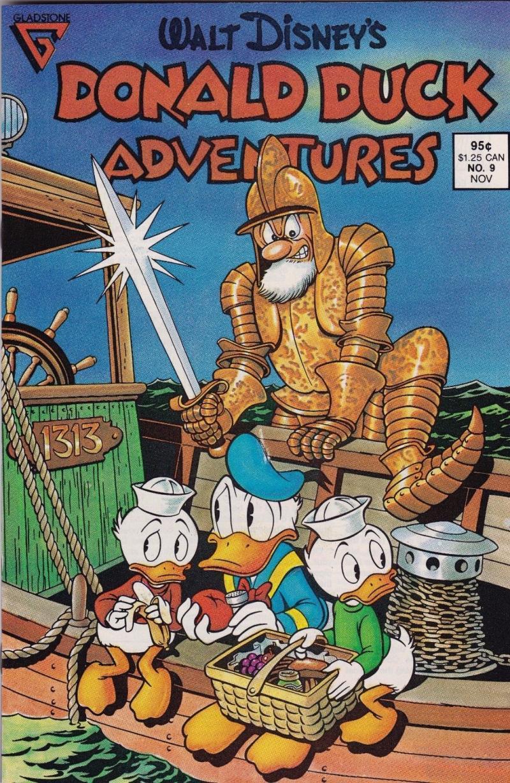 DONALD DUCK ADVENTURES #9, VF, Walt Disney, Gladstone, 1988, Carl Barks