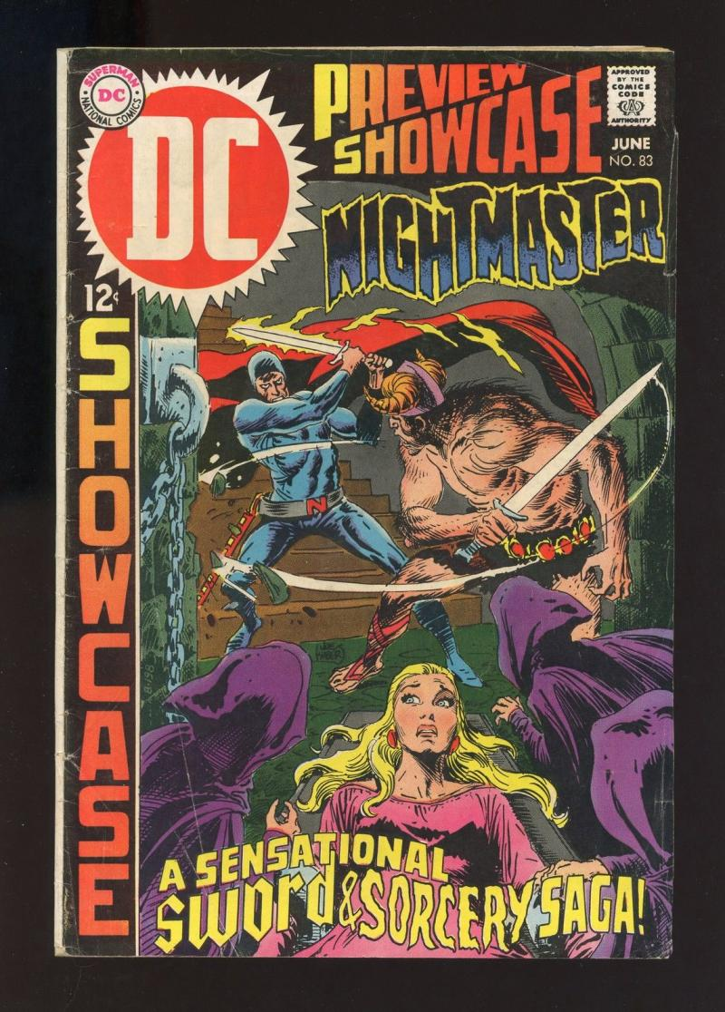 SHOWCASE #83, VG, Bernie Wrightson, NightMaster, 1969 more Silver age in store