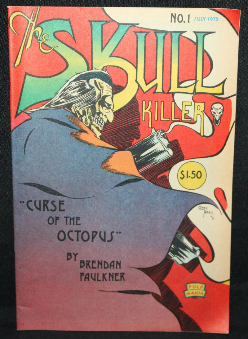 SKULL KILLER #1, VF, Terry, Faulkner, Underground, 1975, 1st, more UG in store